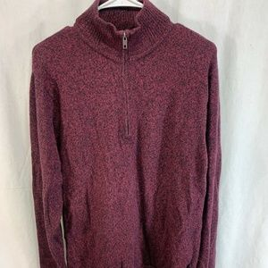 Patagonia 1/2 Zip Sweater Lambswool Pullover Knit